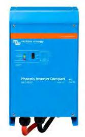 Phoenix Inverters, however, are well suited to power up difficult loads such as refrigeration compressors, electric motors and similar appliances.