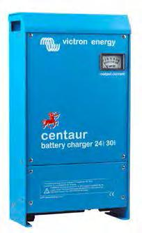 Centaur charger 12/24V Quality without compromise Aluminium epoxy powder coated cases with drip shield and stainless steel fixings withstand the rigors of an adverse environment: heat, humidity and
