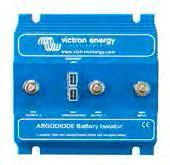 Argo diode battery isolators Diode battery isolators allow simultaneous charging of two or more batteries from one alternator, without connecting the batteries together.