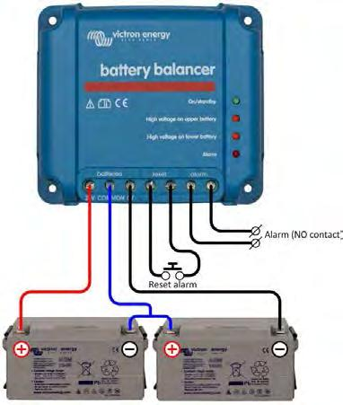 Battery Balancer The problem: the service life of an expensive battery bank can be substantially shortened due to state of charge unbalance One battery with a slightly higher internal leakage current
