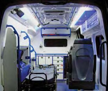 These important medical devices need to be operational at all times. The MultiPlus UPS function provides the ambulances a 230Vac permanent power supply.