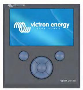 Color Control GX All Victron Energy MPPT Charge Controllers are compatible with the Color Control GX: The Color Control GX provides intuitive control and