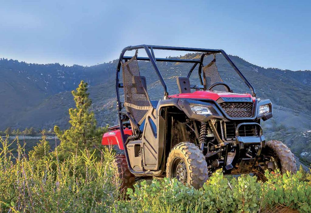 PIONEER 500 Honda adds a compact, affordable and hard