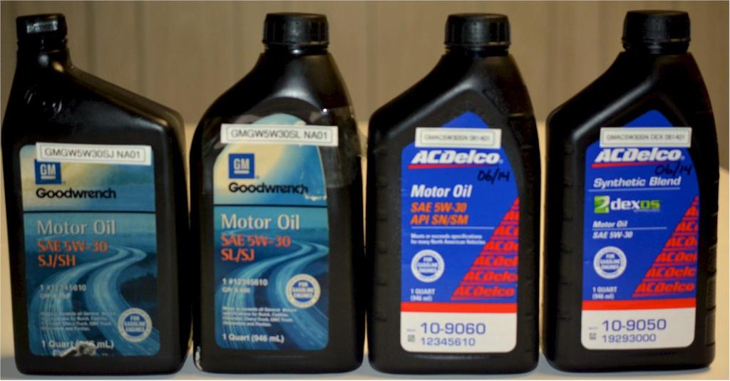 General Motors Corp Aftermarket Oils SAE 5W-30