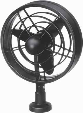 Fans Jet Powerful fan for a pleasant breeze or a powerful flow of air. 30 mm propeller. On/off switch on housing.
