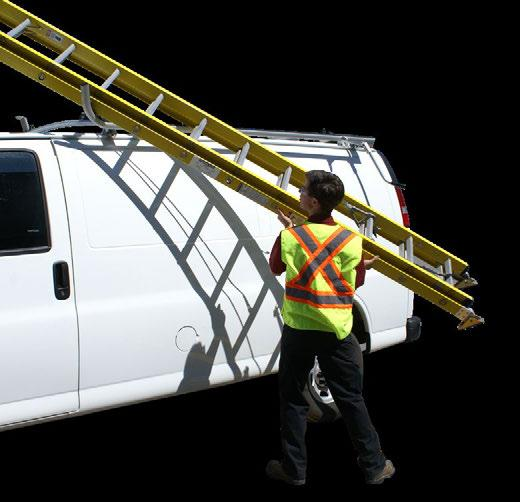 interior ladder carriers and many other options for different