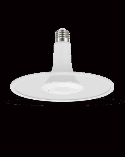 UFO Lamp For Europe & Asia-Pacific Markets More than retrofit, real efficiency for simple and colorful living High PF, flicker free Light guide plate design, even light output 2018 Q1 Launch