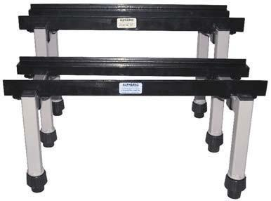 Seismic-rated AlphaRac battery racks are designed to meet the requirements for IEEE 693-2005, IBC 2006 and CBC 2007.