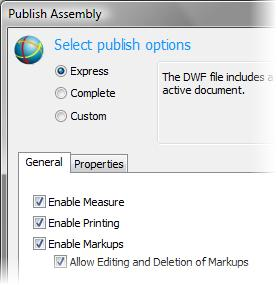 Note that the Enable Markups and the Allow Editing and Deletion of Markups check boxes are selected. 4.
