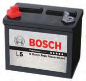 The Advantage of the Bosch Battery Quick and Reliable Starting The Bosch Battery is designed to operate in all climates.