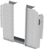 SAFETY PARTITIONS PARTITIONS 3010-RP Contoured