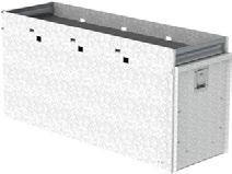 "DRAWERS 5025 Jumbo tool drawer 5026 Jumbo tool drawer 5028 Raised base for 5020 tool drawer 48"" D x 16"" W x 19"" H 320 lbs"