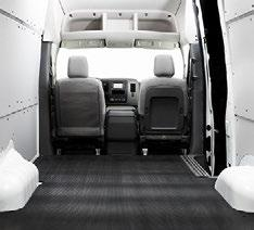 FLOORS Impact and puncture resistant floors preserve the cargo van interior Protect the inside of your vehicle with a