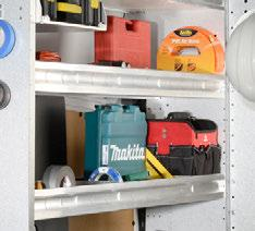 CONTOURED UNITS CONTOURED BIN SHELVING UNIT P.