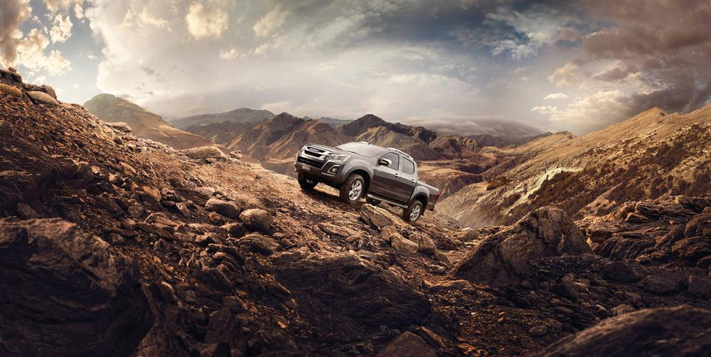 The ISUZU D-MAX design sketches Introducing the new and improved ISUZU D-MAX, combining energetic sports styling and ISUZU engineering innovation with a fresh