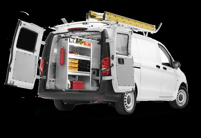 Maximize Cargo Capacity & Vehicle Performance With Contractor Grade, Organized Storage Systems When you want the perfect upfit