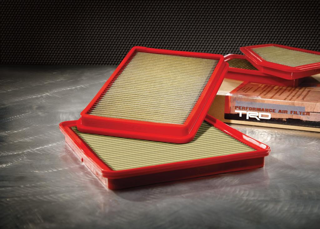 1 /2 TRD Air Filter You multi-task. Make sure your parts do too.