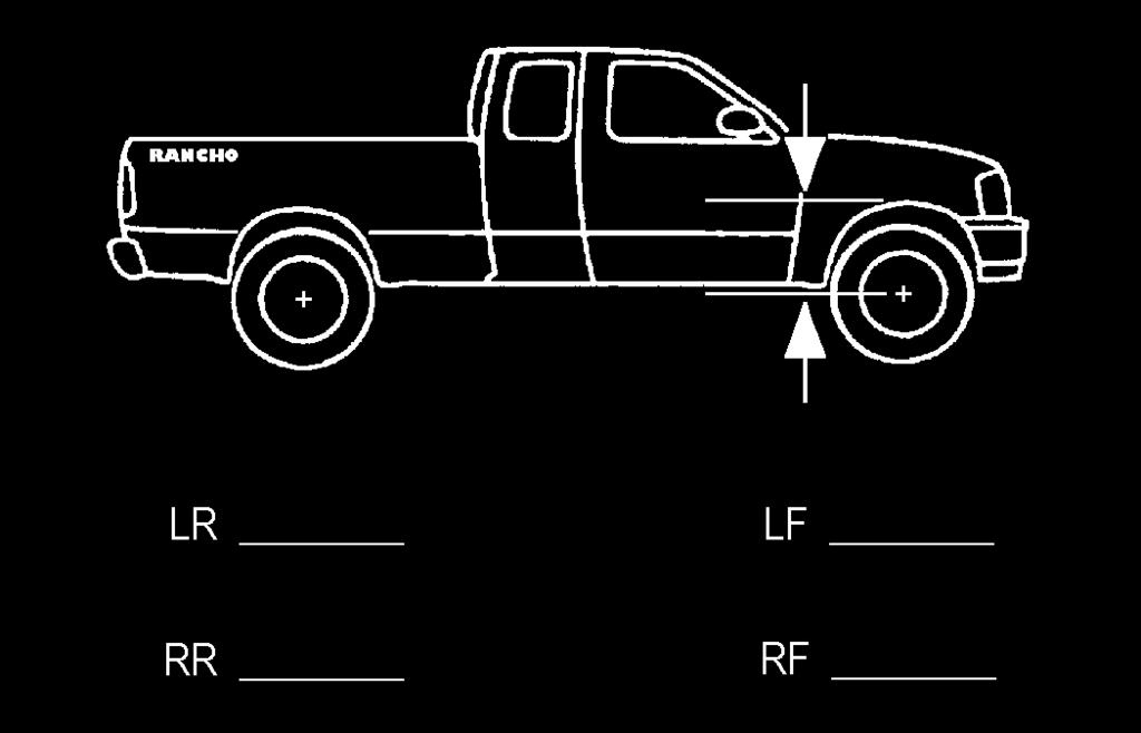 FRONT SUSPENSION VEHICLE PREPARATION & SWAY BAR REMOVAL 1) Park the vehicle on a level surface. Set the parking brake and chock rear wheels.