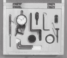 Complete with 10 mm dial guage M3092 TIMING KIT : Pump to engine For use on