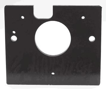 MOUNTING PLATE : 50mm diameter centre