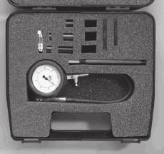 Duel scale dial gauge 0-1000 lb in2 + 0-70 bar.