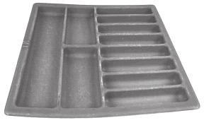 GENERAL TOOLS & ACCESSORIES M3526 PUMP COMPONENT TRAY APPLICATION : IN-LINE PUMPS
