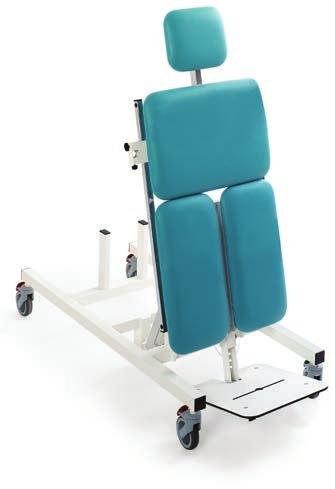TiltTables for prone and supine position Adjustable trunk support + 90 T 1 E 1 4 W? TIT TABE E PRO 140Kg Four-section tilt table for static exercises in prone position for up to 140 kg.