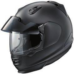 preequipped with Arai s Pro Shade System, providing