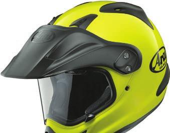 its shell shape provides better aerodynamic stability at higher street speeds in concert with its