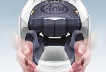 ) Facing A Potential Problem: Some riders get concerned about getting the helmet to fit over their faces. We find many such riders wearing helmets up to two sizes too big.