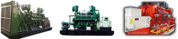 400V/50HZ 625KVA 500KW 400V/50HZ 750KVA 600KW 400V/50HZ 1000GF1-RT Natural Gas Genset Natural gas should be CH4 70%; Low