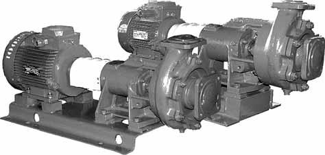centrifugal end-suction pumps of 1K 8/18 and 1K 2/3 type and electric pump units on their basis CENTRIFUGAL END-SUCTION PUMPS OF 1K 8/18 AND 1K 2/3 TYPE AND ELECTRIC PUMP UNITS ON THEIR BASIS