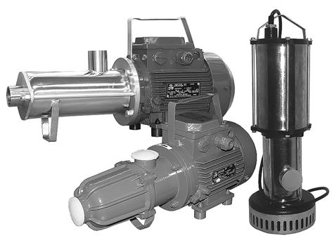 single-screw self-priming electric pumps of series BURUN SINGLE-SCREW SELF-PRIMING ELECTRIC PUMPS OF SERIES BURUN APPLICATION Single-screw closed-coupled pumps BURUN are intended for pumping clear