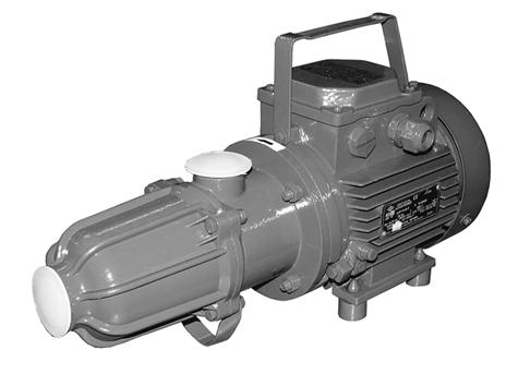 single-screw self-priming electric pumps of series BURUN N1V SINGLE-SCREW SELF-PRIMING ELECTRIC PUMPS OF SERIES BURUN N1V APPLICATION Series N1V includes portable self-priming drainage pumps.