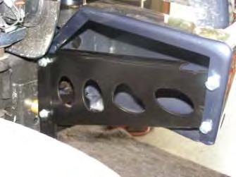 roller fairlead, through bar and secure from