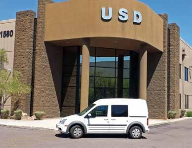 Ford CNG Vehicle TESTIMONIAL 3. USD, Inc. Exceeding Expectations: Westport s CNG-Powered Ford Transit Connect When USD, Inc.