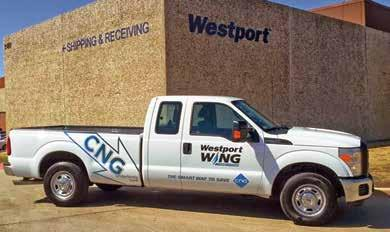 possible going forward. In 2013 alone, the company added 20 Westport WiNG Power System Ford Transit Connects operating on dedicated compressed natural gas (CNG) to its fleet.