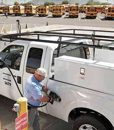 There are two options for propane autogas refueling skidmount and permanent stations.