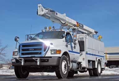 Ford Plug-In Hybrid Vehicle TESTIMONIAL. PECO DUECO inc. is delivering 22 F-750 chassis cabs outfitted as Terex T55 bucket trucks to PECO, an electric and natural gas utility based in Philadelphia.