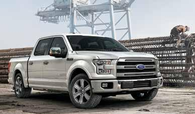 There Is More To SUSTAINABILITY Than Alternative Fuel Use. 2015 Ford F-150 The all-new, aluminum alloy 2015 Ford F-150 pickup continues to make headlines for groundbreaking achievements in technology.