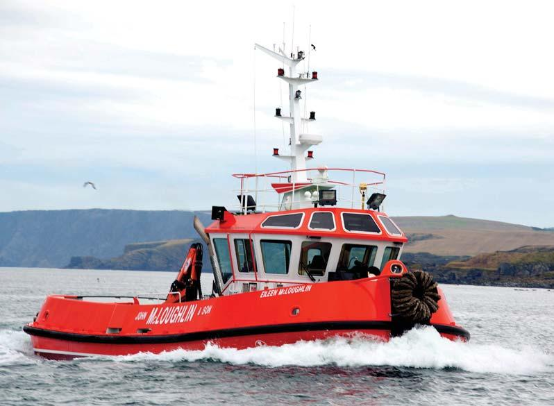 Virtual repeat of design ordered for Belfast Following on from the success of its Macduff-designed 16m Sally McLoughlin commissioned in