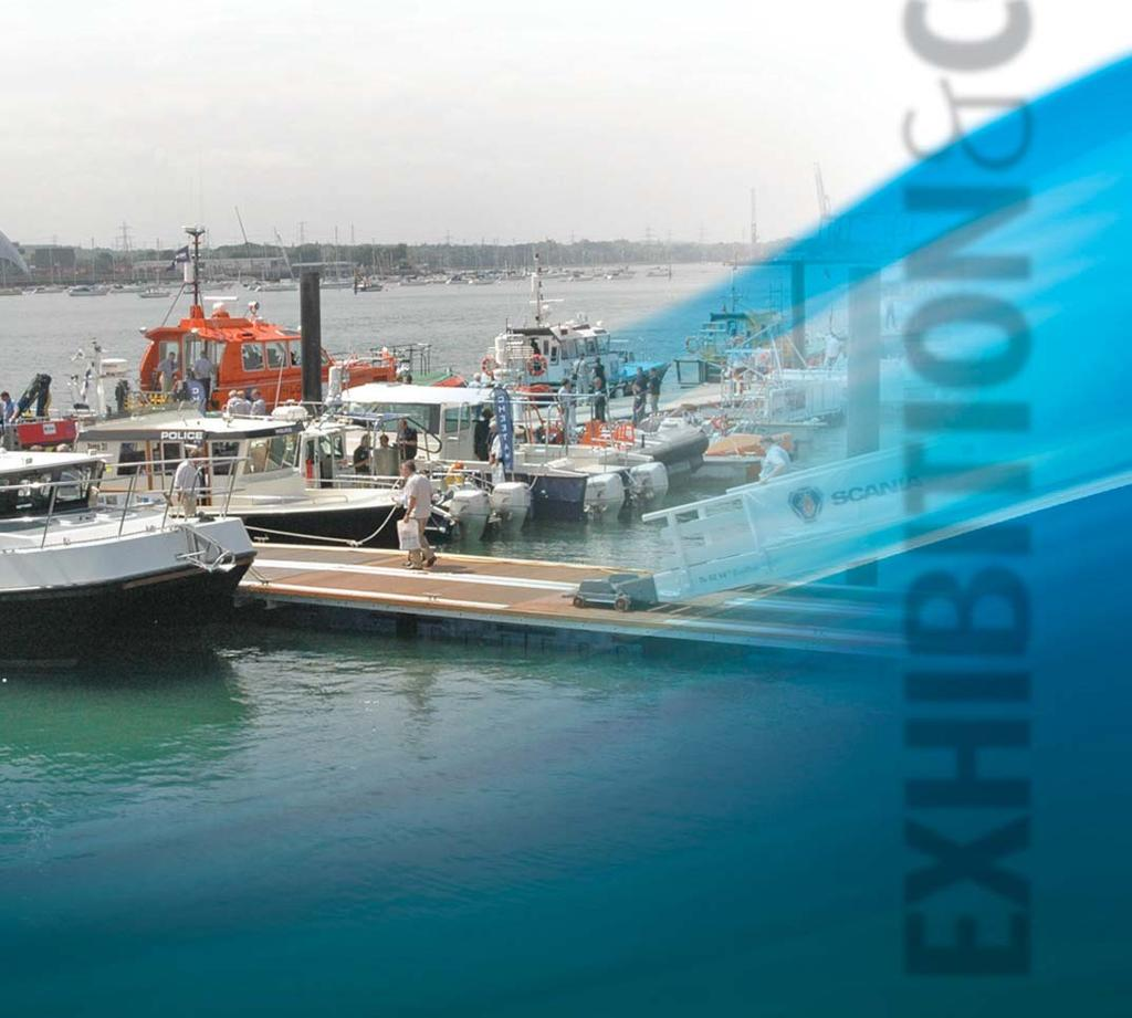 Harbour & Marina Services UK event for the commercial Vessel Design, Build & Repair Maritime Security & Defence marine and workboat Hydraulics & Pneumatics sectors, attracting