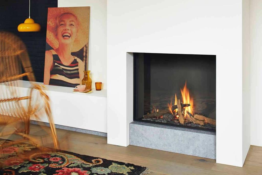 B-fire 80 B-fire 80 Glass dimensions: 80 x 65