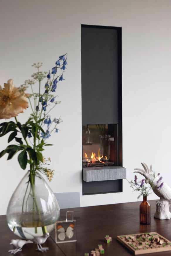 B-fire 50 Steel frame SC 50 stone B-fire 50 Steel frame: SC 50 stone Glass dimensions: 52 x 55 cm (w x h) Available with single or wood burner Robust yet understated TULP s standard fires are true