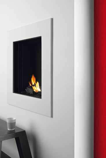 S-fire 50 S-fire 50 Glass dimensions: 52 x 55 cm (w x h) Available with single or double burner The ordinary made extraordinary There s nothing ordinary about TULP s standard fires; our basic models