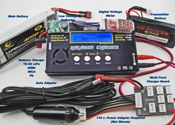 RC BOATS BASICS - Cont d Power Sources (Batteries) NiMh/NiCd/Lead Acid batteries are the most common and probably most used at this point.