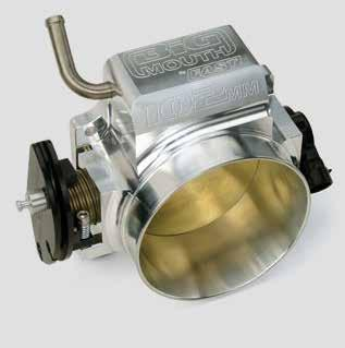 BIG MOUTH THROTTLE BODIES When it comes to improving performance, increased airflow is a key ingredient.