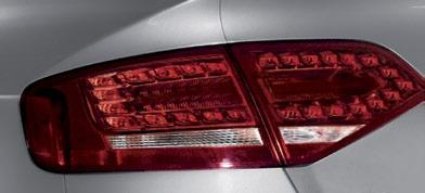 LeD taillights LED lights are superior to conventional bulbs, with their activation speed and their long service life.