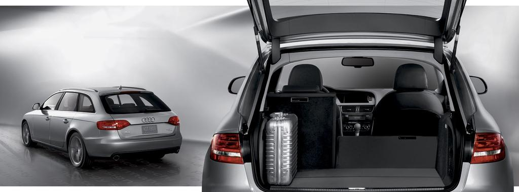 Luxury that knows how to multitask. The A4 Avant is extremely adept at fulfilling a number of roles effortlessly.
