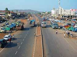 7 per month), the number of traffic accidents in the Chilakaluripet-Vijayawada section has shown a tendency for gradual decrease.